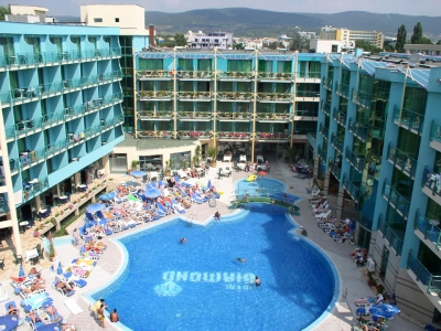 The Hotel Is Located In Centre Of Sunny Beach Resort About 250m From Ropriate Not Only For Families But Also Young